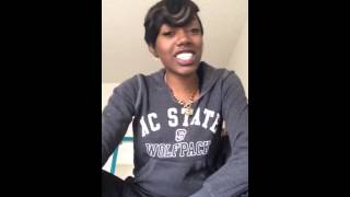 Jazmine Sullivan - In Love with Another Man ( cover )