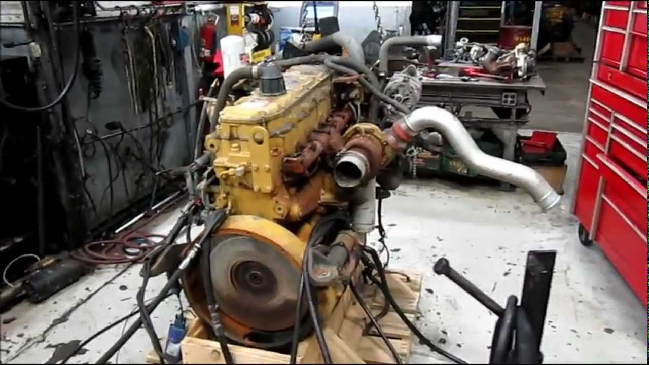 Catsel Engine Running
