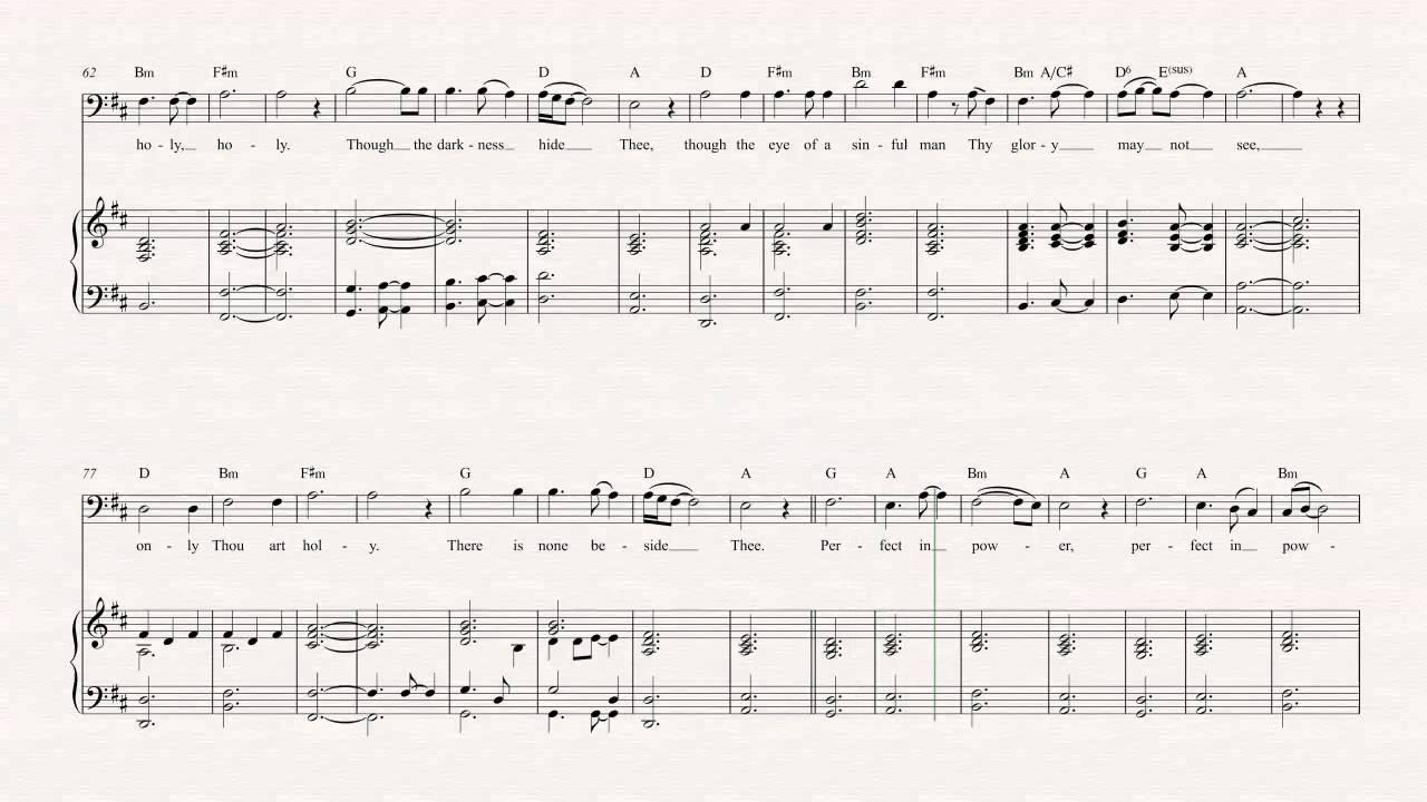 Trombone - Holy Holy Holy - Sufjan Stevens - Sheet Music, Chords, u0026 Vocals - YouTube