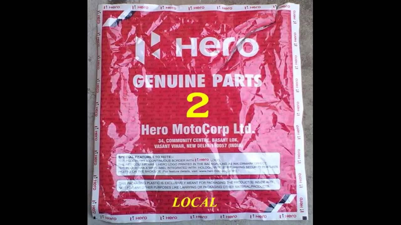 Hero Spares Original Local Parts