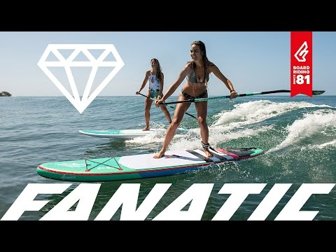 Fanatic Diamond & Diamond Air Girls SUPs 2017
