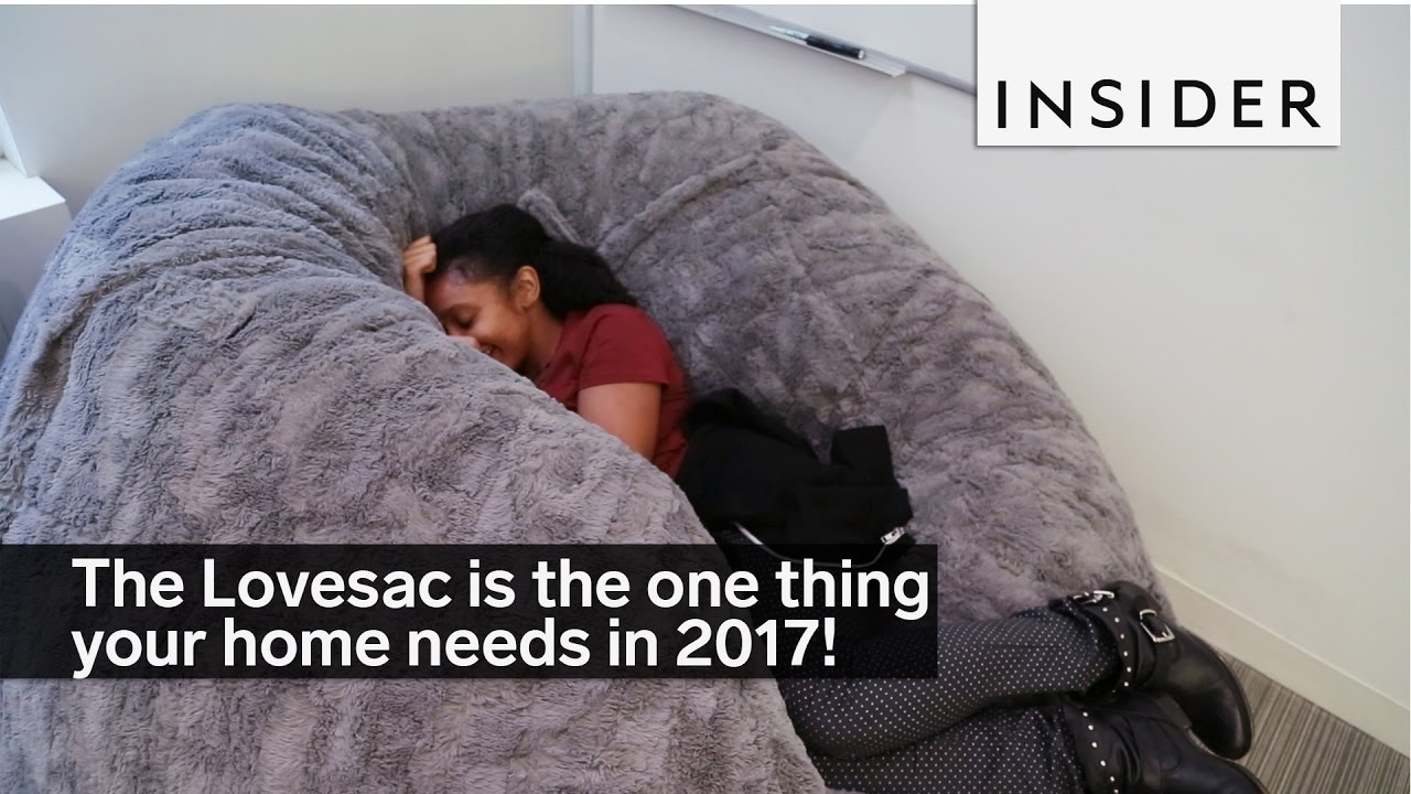 The Lovesac is the one thing your home needs in 2017