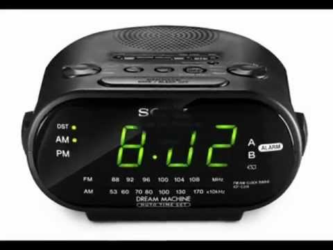 the best clock radio for the elderly sony clock radio icf c318 youtube. Black Bedroom Furniture Sets. Home Design Ideas