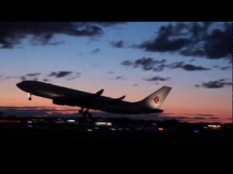Air Algerie Airbus A330-202 Takeoff YUL / CYUL Montreal Trudeau Int'l Airport