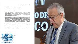 Él es Carlos Urzúa, ex titular de SHCP que renunció al gabinete de AMLO