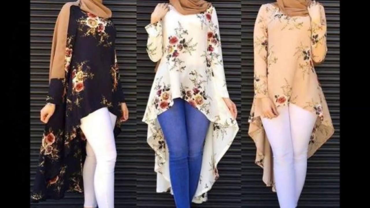 865576493 HIGAB FASHION STYLE 2017 ملابس محجبات صيفية رائعة - YouTube