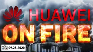 Huawei Lab Fire Downplayed by Beijing; US and China Go at Each Other at the UN