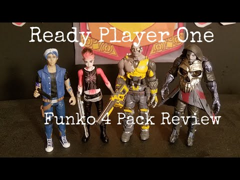 Art3mis Ready Player One Parzival Aech i-R0k Funko figure 3 pack 20620