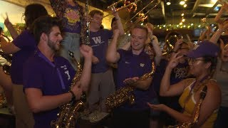 Husky Marching Band: UW's tradition-based, supportive soundtrack on Montlake