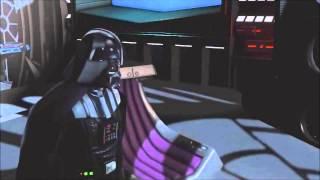 Darth Sidious Kills Darth Vader