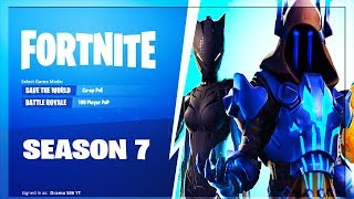 🔴 FORTNITE LIVE *SEASON 7 HYPE* NEW BATTLEPASS SKINS SNOW MAP & MORE! (FORTNITE SEASON 7)