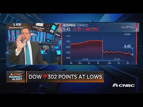Dow Swings 500+ Points On A Volatile Day For Stocks