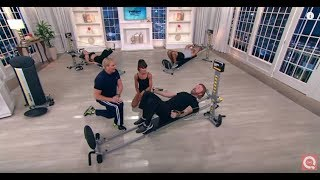Video Total Gym FIT w/6 DVD's, Attachments, Training Deck & Wall Chart on QVC download MP3, 3GP, MP4, WEBM, AVI, FLV Maret 2018