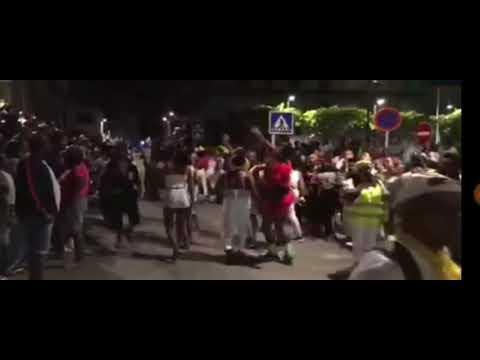 Gran déboulé spowtif au lamentin 👍🤠- carnaval 2018 - identité radio Martinique 🤠