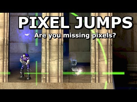 Pixel jumps - Are you missing pixels?