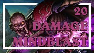 Hearthstone: 20 Damage Mindblast (Combo Priest)
