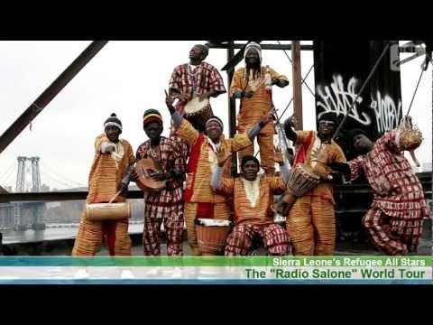 SL Refugee All Stars: The Radio Salone Tour | Brand Sierra Leone News Clip