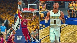 NEW INTRO: NBA Finals Game 1 | Jumped Over Wade To Dunk On Lebron OMG!!! NBA 2k18 MyCareer #29