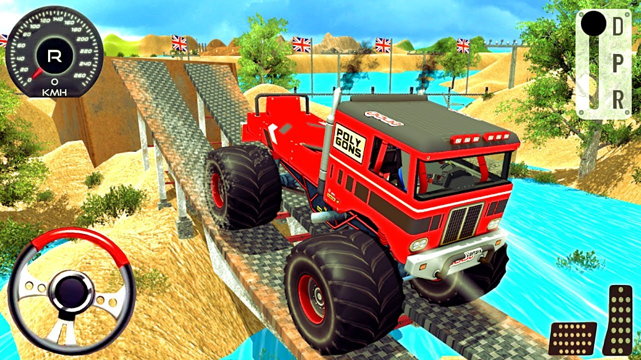 Monster Truck Ferocity Jeep Driving Game 2020 Android Gameplay Youtube