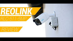 [GER] Reolink POE RLC 511-5MP 4x Zoom// ÜBERWACHUNGSKAMERA // UNBOXING + REVIEW #Security #Camera