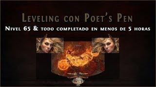 Video Guía Path of Exile || Speedrun Act1-10 & lvl65 en menos de 5 horas (Poet's Pen Leveling) download MP3, 3GP, MP4, WEBM, AVI, FLV Juni 2018