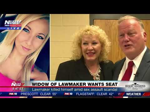 Widow wants seat of Kentucky lawmaker who killed himself amid sex assault scandal