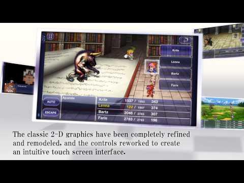 Final Fantasy V, ya disponible para iOS