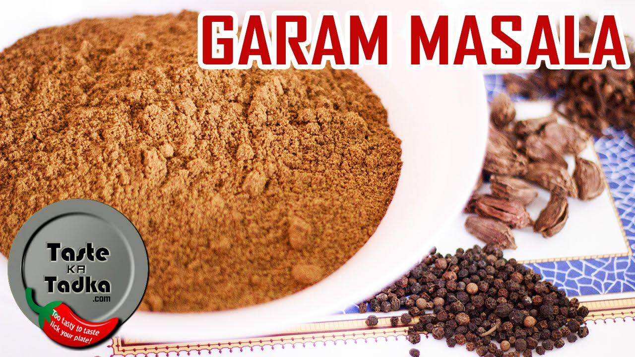 How to make garam masala recipe indian spice mix or blend english subtitles youtube - Garam masala recette ...