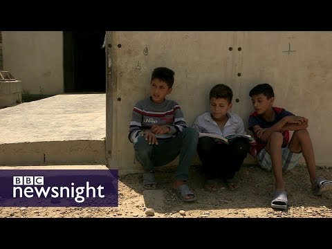 Iraq election road-trip - BBC Newsnight