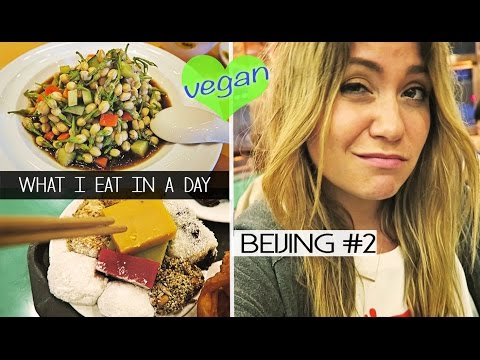 What I Eat In A Day (vegan) | BEIJING #2
