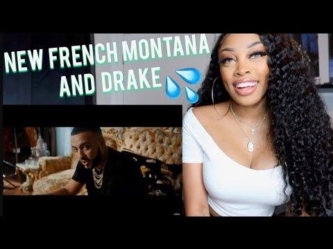 REACTING TO French Montana - No Stylist ft. Drake video| Ashley Deshaun