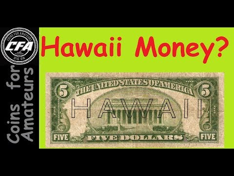 What Is A Hawaii Note? Why Is Hawaii On A Dollar? WWII Currency, WW 2 Currency