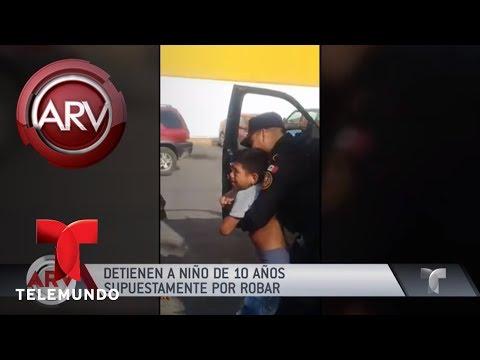 Polémico arresto de niño en México por robo menor | Al Rojo Vivo | Telemundo