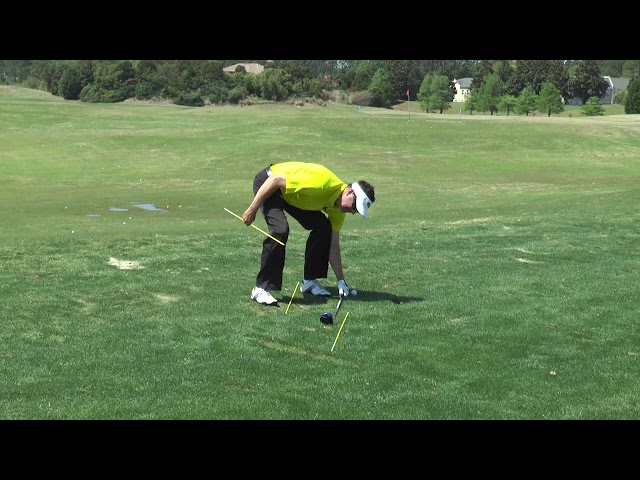 Alignment Sticks Shallow Out Your Swing - Classic Swing Golf School | Myrtle Beach, SC