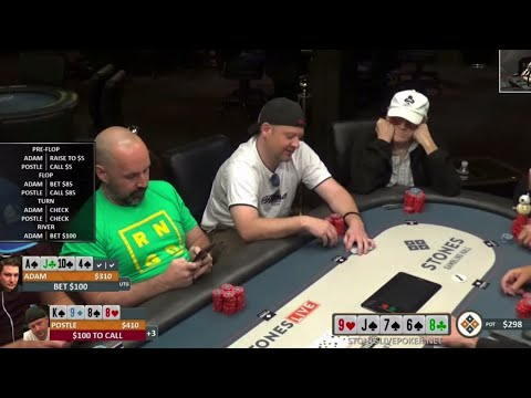 Is Mike Postle Cheating At Pot Limit Hi/Low? (PLO8 Training Video)