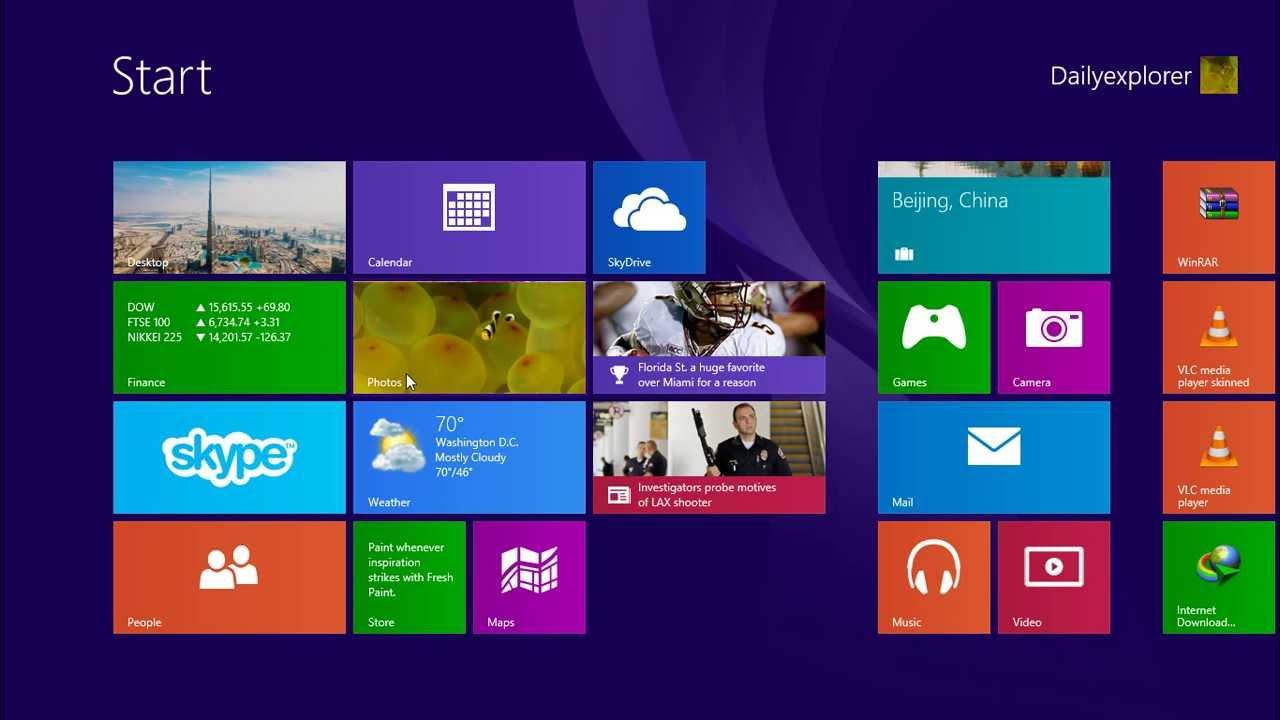 Boot Directly To Desktop In Windows 8 1 Instead Of Start