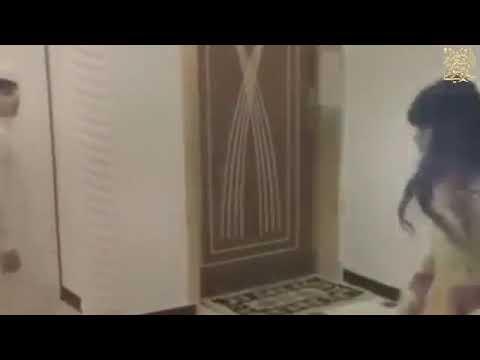 رقص بنت مع ولد على شيلة مشعل المرواني 2018 thumbnail