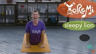 Yo Re Mi –Sleepy Lion (Kids Music and Yoga)