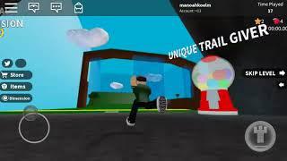 Roblox spelen was leuk en ik deed Speed Run 4