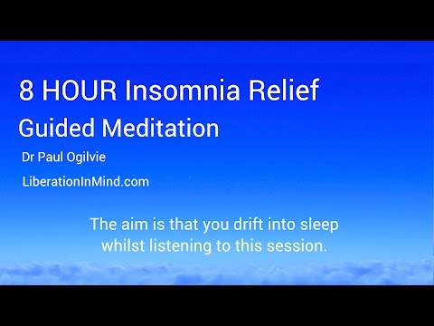 8 Hour Insomnia Relief Guided Meditation for Sleep