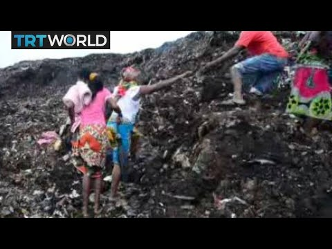 Mozambique Rubbish Dump: Rescue workers searching for more people