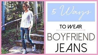 Boyfriend Jeans Styled 5 Ways | Fashion Over 40
