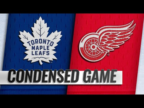 02/01/19 Condensed Game: Maple Leafs @ Red Wings