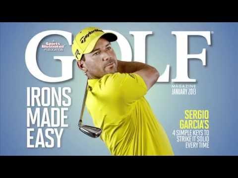 Golf Magazine Sergio Cover Promo
