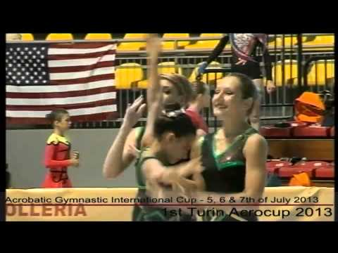 1st Turin Acrocup - Acrobatic Gymnastic International Cup - Day 1 - part 1