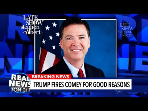 Thumbnail: 'Real News Tonight' Tackles James Comey