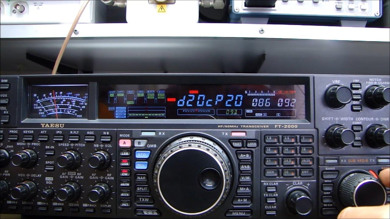 ALPHA TELECOM: YAESU FT-2000 BAIXA POTÊNCIA APENAS EM 28Mhz e DICA ESPECIAL....