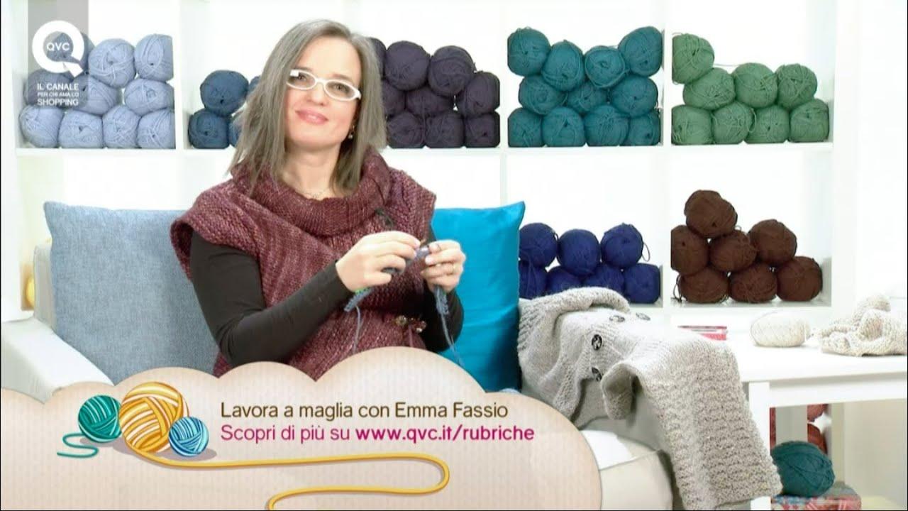 colori e suggestivi preordinare godere del prezzo più basso Creare una maglia top-down. Presenta Emma Fassio