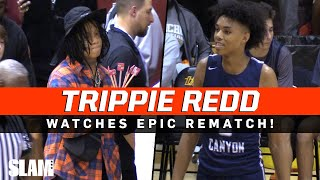 Trippie Redd PULLS UP to EPIC REMATCH! Sierra Canyon GETS REVENGE vs Rancho Christian!?
