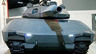 Polski czołg przyszłości PL 01 CONCEPT następca T-72, PT-91 i Leoparda- Premiera targów MSPO 2013